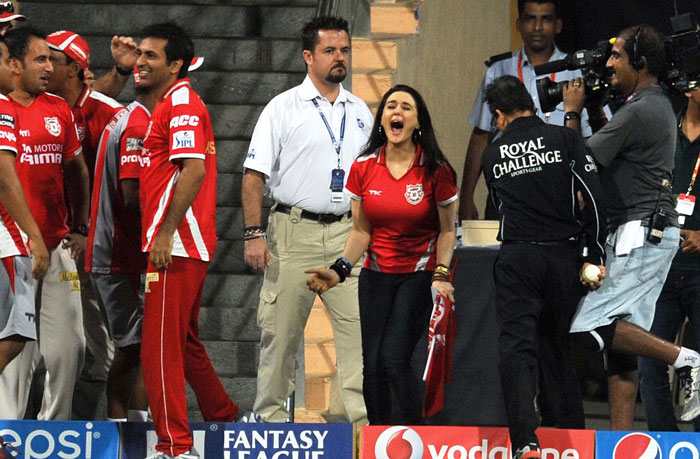 Preity Zinta game for open auction in 2018