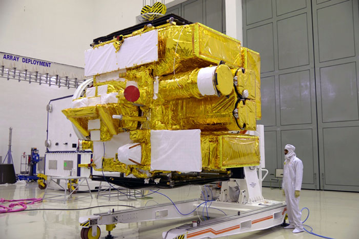 ISRO NASA Satellite In Space