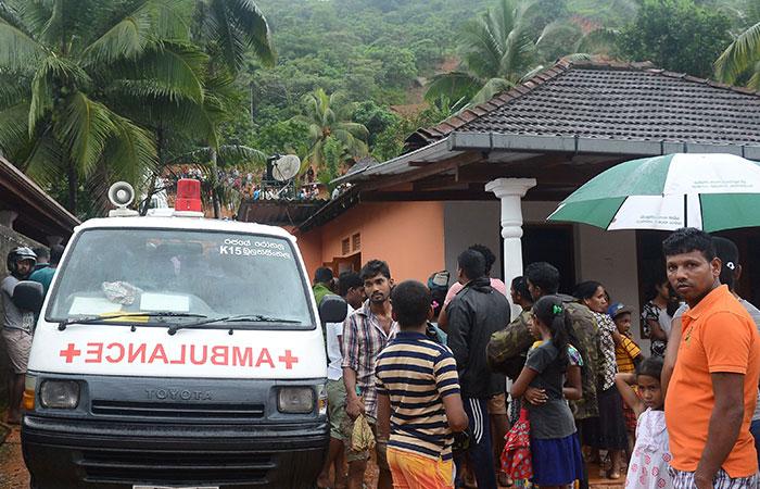 Flood in Sri Lanka