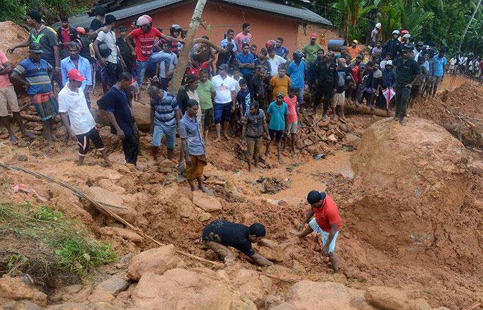 Land Slide in Sri Lanka