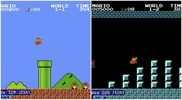 The AI trained to be curious did better when facing changing Mario levels - UC Berkeley