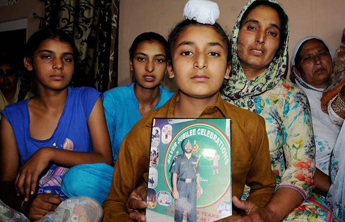 Paramjit Singh family
