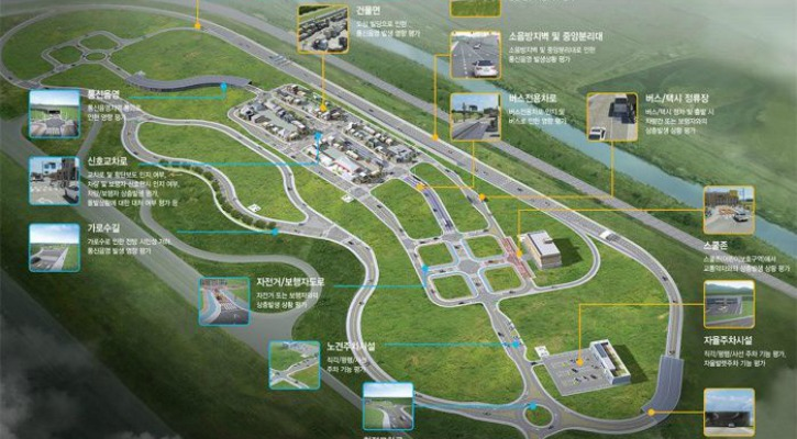 The layout of the K-City complex - Image courtesy: Business Korea