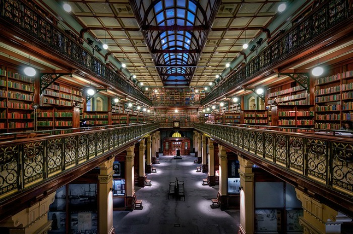Mortlock Wing State Library, Adelaide, Australia