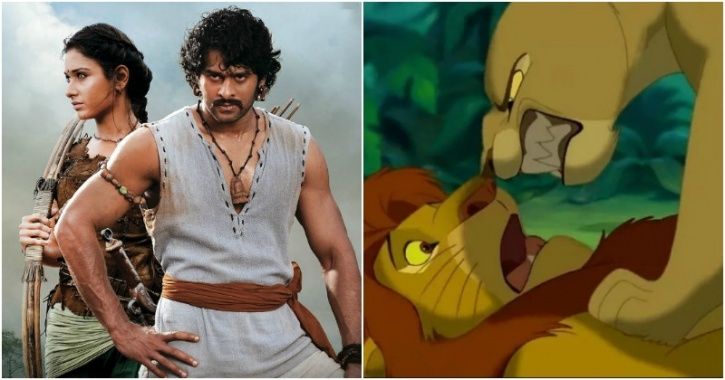 Baahubali, The Lion King
