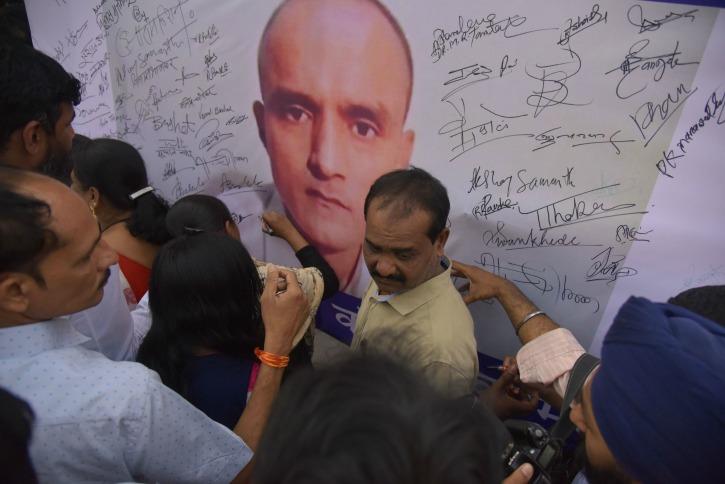India moved ICJ as Kulbhushan Jadhav
