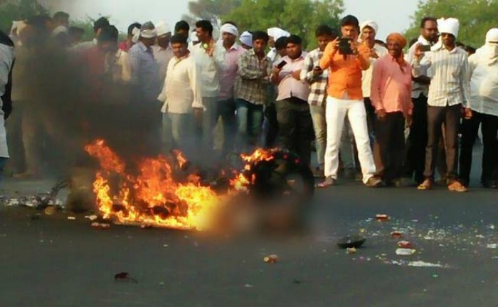 Accident Victim Burns To Death On National Highway