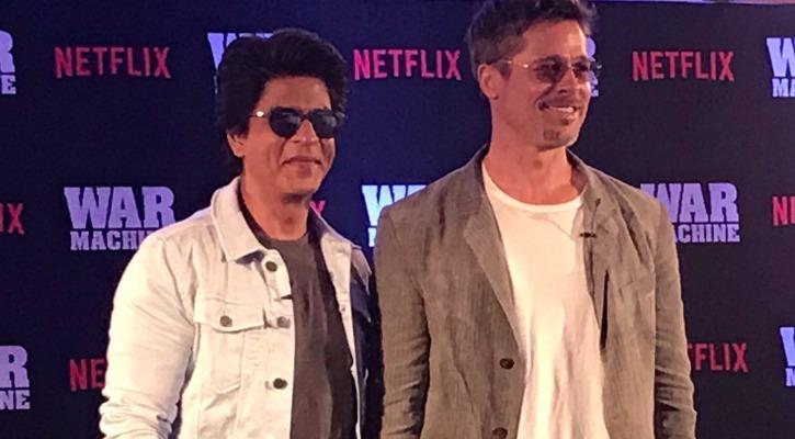 SRK and Brad Pitt