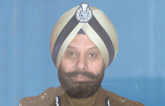 Tejinder Singh Dhillon, a retired IGP with CRPF