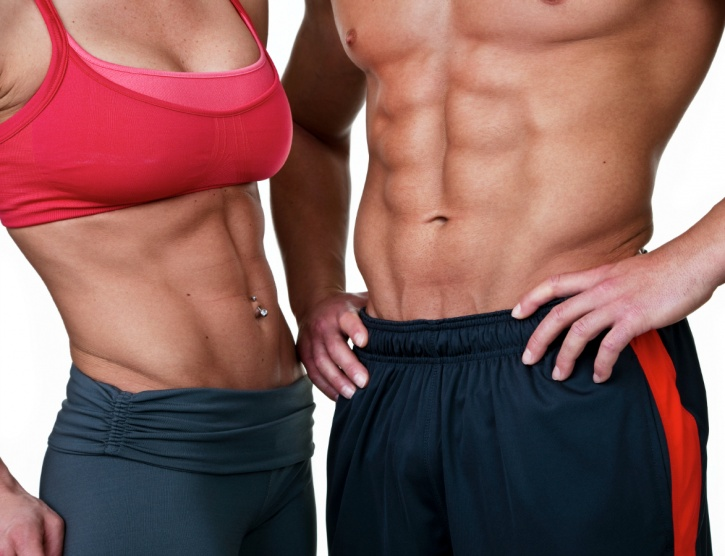 As the muscles around your midsection strengthen they wrap around your waist like a corset straightening out your lower back and spine by giving them ample support