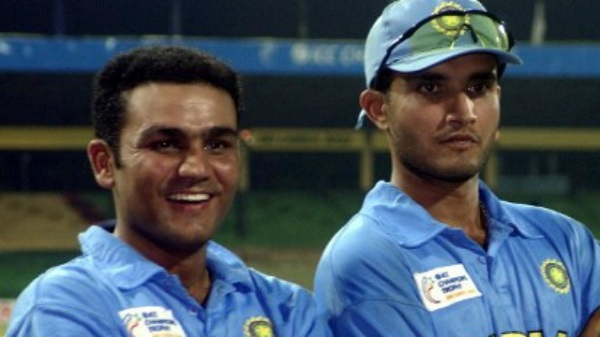 Sehwag and Ganguly