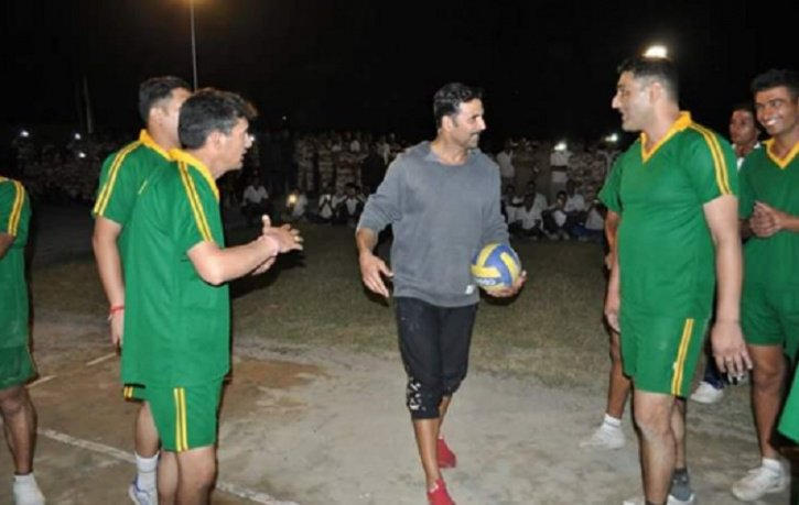 Akshay Kumar with ITBP