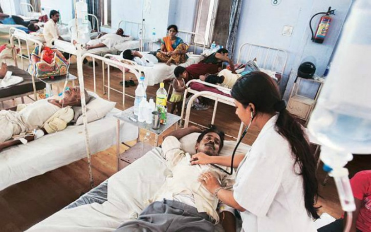 The number of Indians impacted by some of the most common diseases