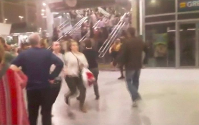 Explosion in Concert In Manchester
