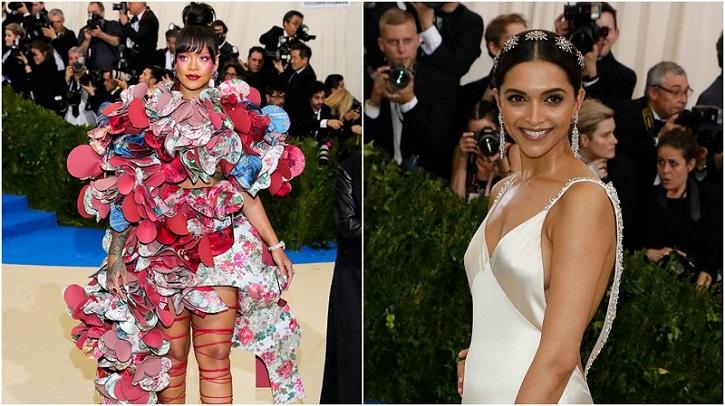 Rihanna and Deepika Padukone