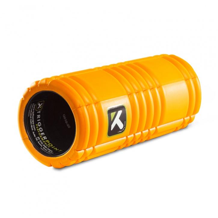 Grid surface foam roller