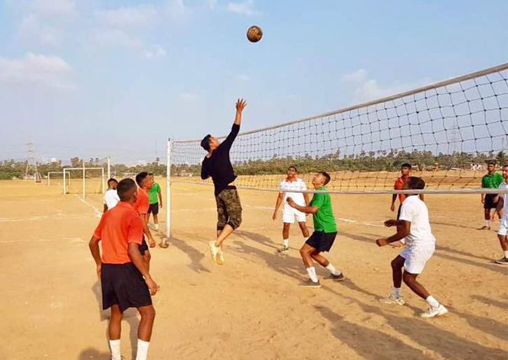Akshay Kumar volleyball