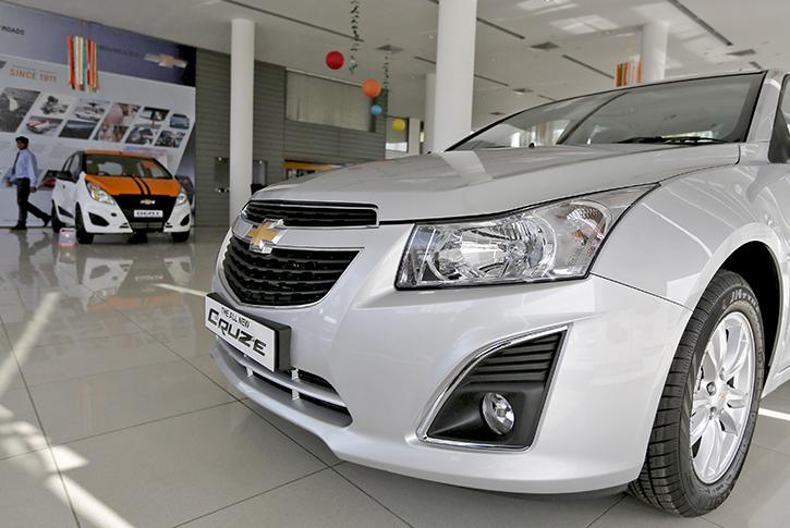 Chevrolet India dealership