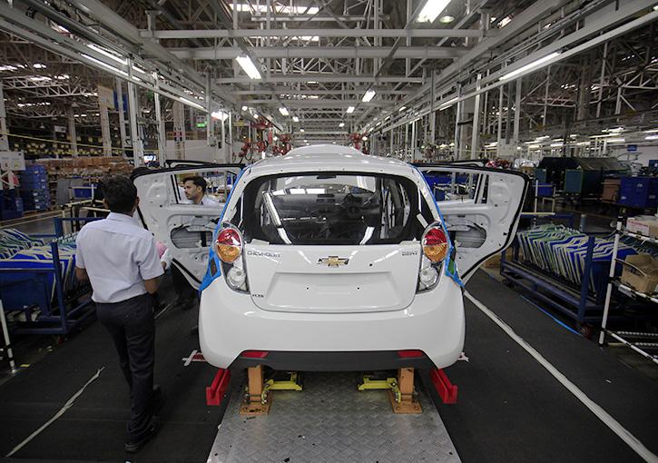 Chevrolet India plant