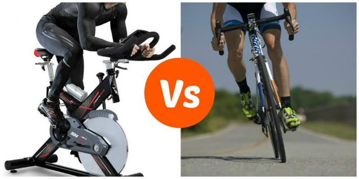 indoor vs outdoor biking
