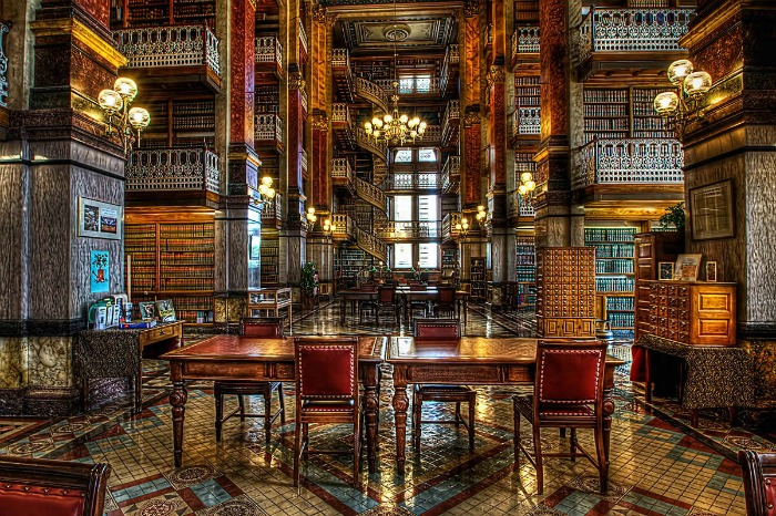 State Capitol Library, Iowa, US