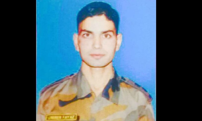 Lieutenant Umar Fayaz Parry
