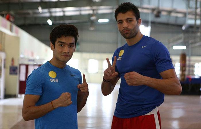 Shiva Thapa and Sumit Sangwan