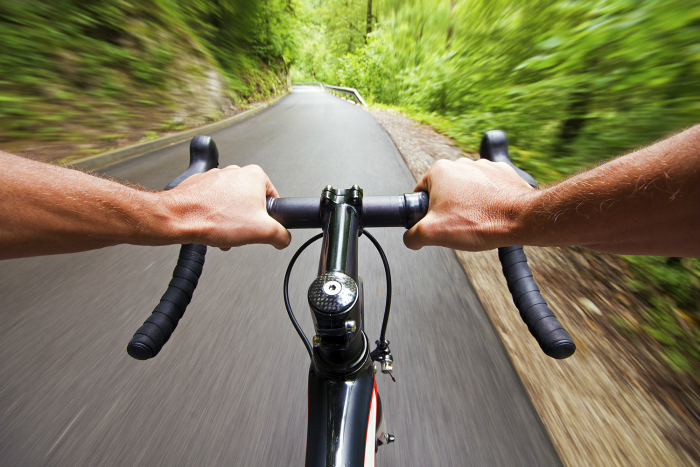Riding outside can give you a fast, stress-busting workout that bases itself on the feeling of liberation you get with a gush of wind hitting your face