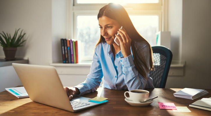 Hypothetical Preeti Working From Home