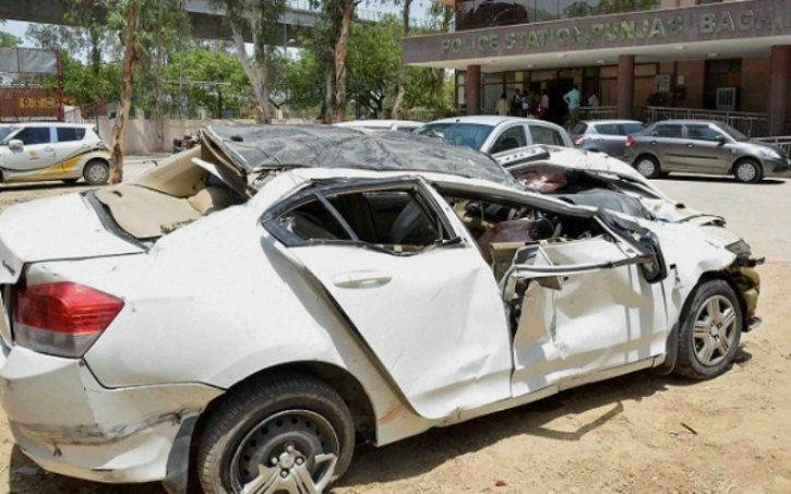 Punjabi Bagh Accident
