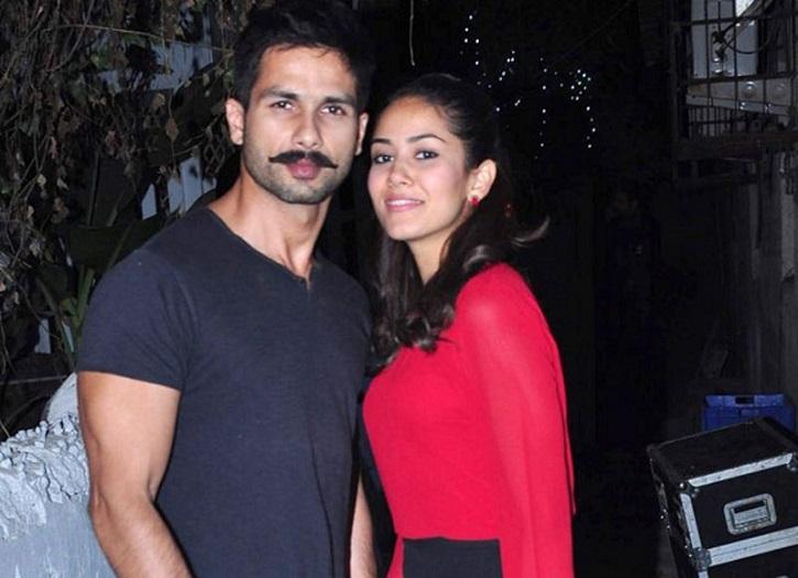 Mira and Shahid Kapoor