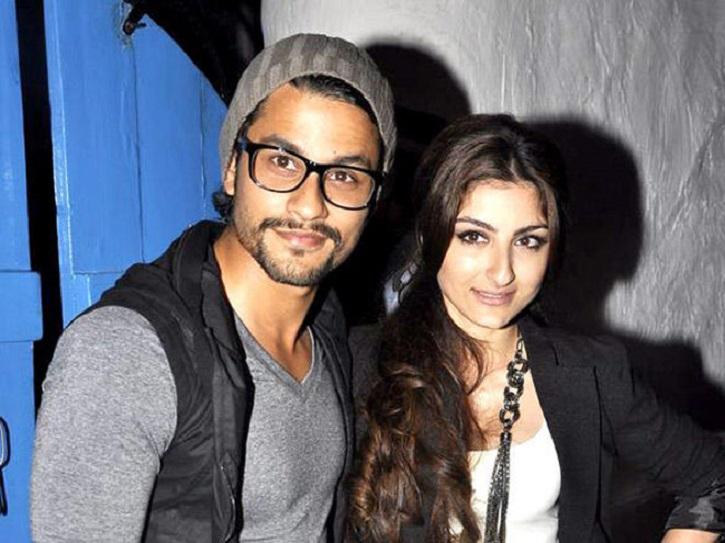 Soha Ali Khan and Kunal Khemmu