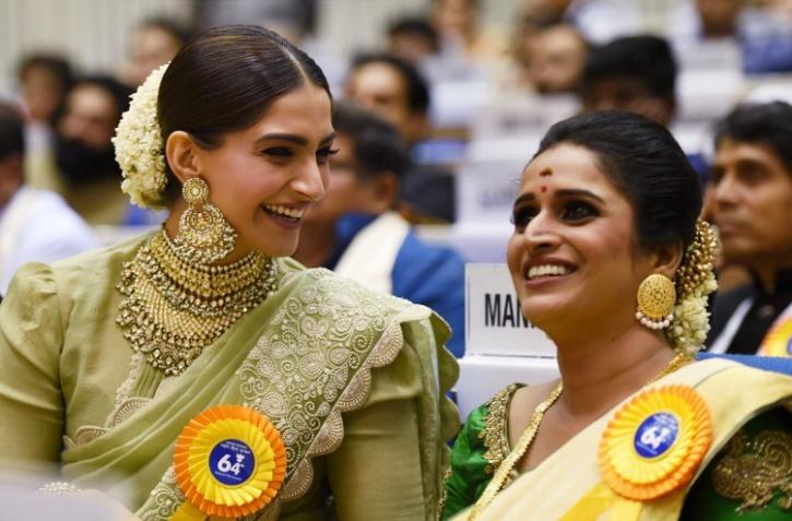 Sonam Kapoor and Surabhi Lakshmi