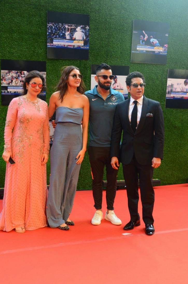 Virat Kohli and Anushka Shrma