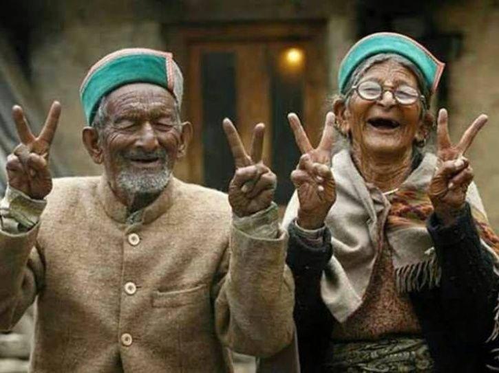 himachal pradesh vote, oldest man-polling