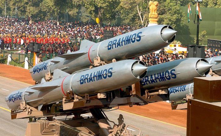 Supersonic Cruise Missile Brahmos