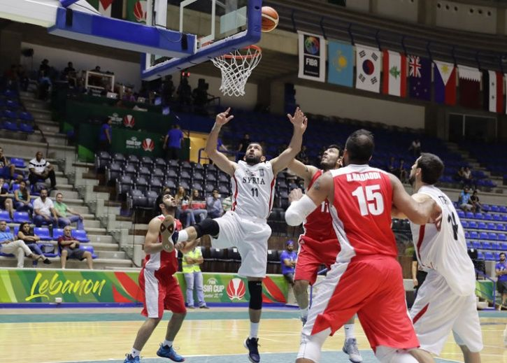 syria basketball