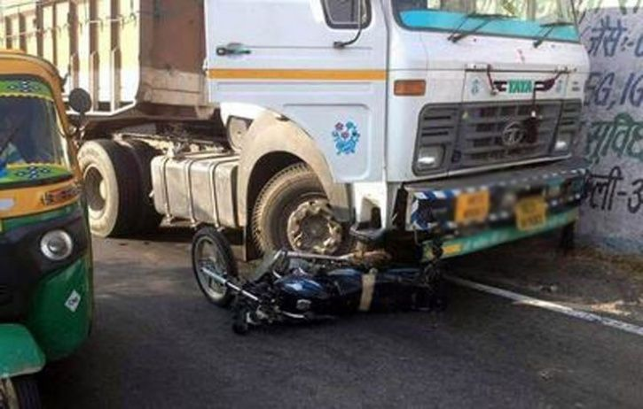 Truck Rams 3 Bikes gurgaon