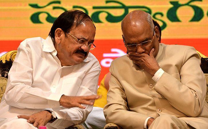 Kovind and Naidu