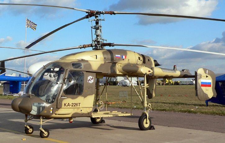Russia Choppers Kamov Ka-226T