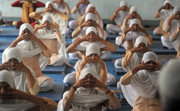 Muslim Yoga Teacher