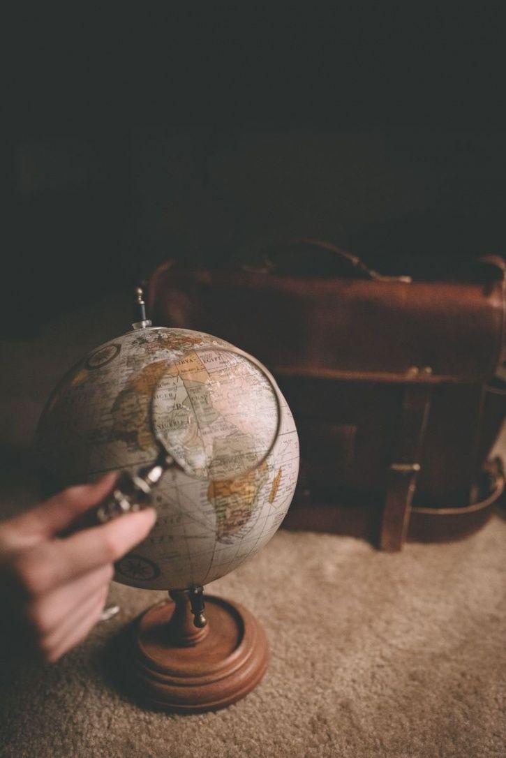 Travel The World - Globe Image