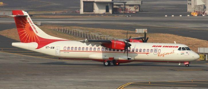 ATR aircraft india