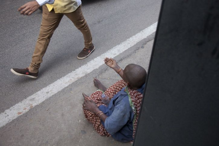 Beggars Picked Up In Hyderabad
