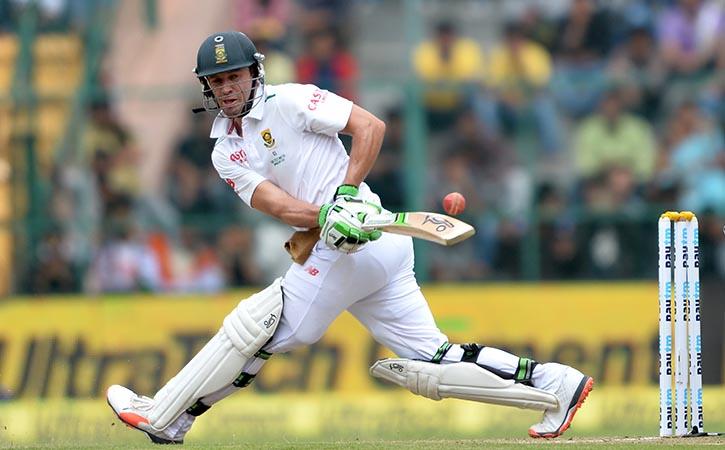 AB de Villiers playing swipe shot