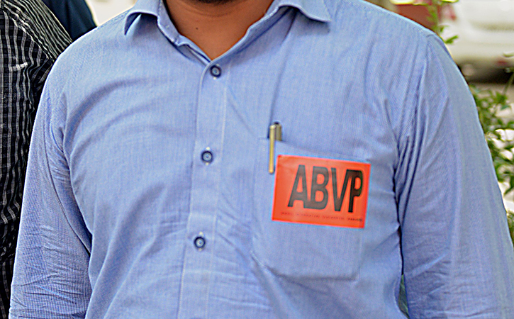 ABVP Worker Offers Bounty For Chopping Off Arms Of Game Of Ayodhya's