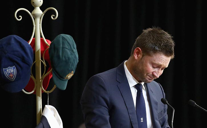 Australia captain Michael Clarke says he should have retired a year earlier than he did