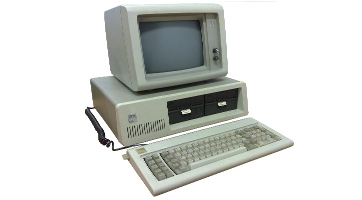 The first IBM PC that introduced the BIOS