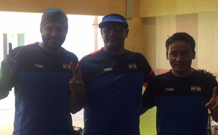 Prakash Nanjappa, Amanpreet Singh and Jitu Rai