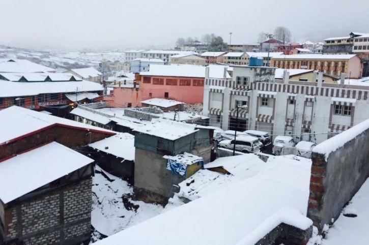 Uttarakhand Snowfall